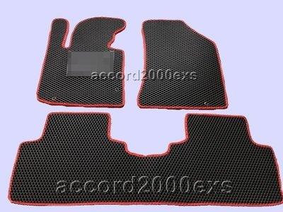 第二代『加厚型+加強墊』三件式蜂巢式菱型汽車防水專用型腳踏墊~二排椅300元~zinger freeca colt pl