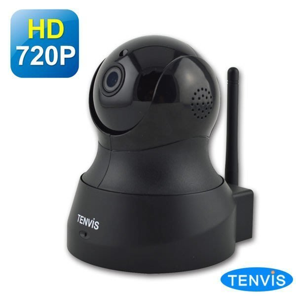 TENVIS 無線網路攝影機 【TH-661】 HD 黑色 3c粉絲