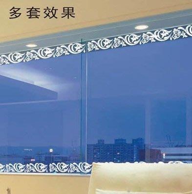 小妮子的家@浪漫花藤腰線壁貼/牆貼/玻璃貼/汽車貼/磁磚貼/家具貼