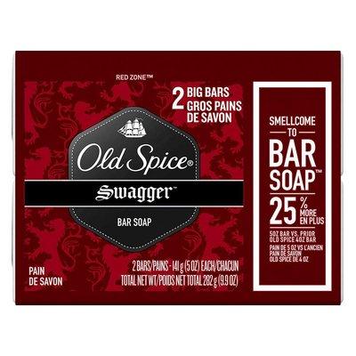 【Old Spice 歐仕派】高級潤膚香水皂兩入組-搖擺Swagger(5oz/141g*2)【3297】