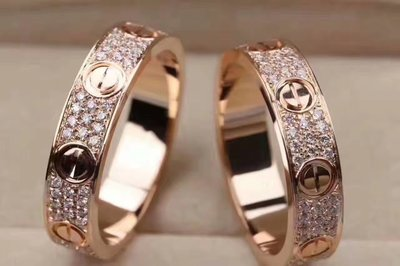 伊莎貝拉輕珠寶系列-品牌中性、18k金滿鑽戒指