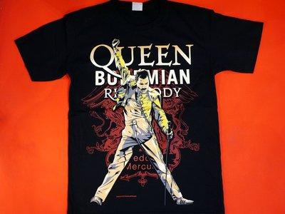 【小間搖滾】Queen 皇后合唱團 波希米亞狂想曲☆進口Rock搖滾ㄒ恤 (S M L XL)