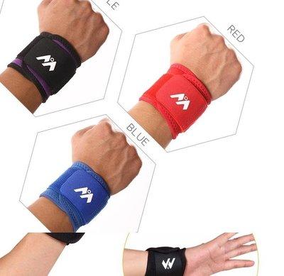 運動護腕 吸汗 健身護腕男女籃球羽毛球排球防扭傷繃帶護手腕透氣
