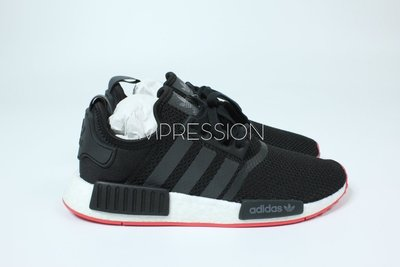【IMPRESSION】ADIDAS ORIGINALS NMD R1 黑紅 透氣 慢跑鞋 男鞋 CQ2413 現貨
