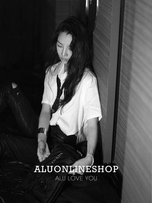 MILAN BOX 21ss 高街造型Liberate系列廓型百變穿搭女團純白襯衫