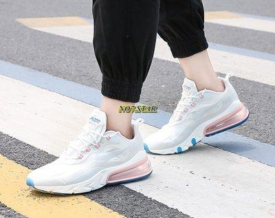 Nike Air Max 270 React 白粉 水藍 白灰 棉花糖 藍底 休閒 氣墊 男女鞋 AO4971-100