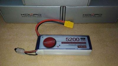 正貨 酷點 14.8V  5200mAh  60C  納米鋰電池