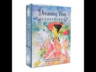 【預馨緣塔羅鋪】現貨正版築夢之路雷諾曼卡Dreaming Way Lenormand (全新36張)(附贈中文說明)