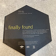 CD 單曲 宣傳 - Honeyz - finally found