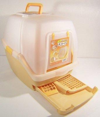☆米可多寵物精品☆ TIO-530FT 日本IRIS雙層貓砂屋雙層貓便盆懶人貓砂盆