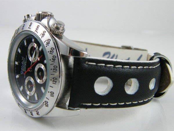 【錶帶家】『嚴選』22mm 20mm 18mm 代用勞力士 ROLEX 帝舵 TUDOR 蕭邦 天梭 三眼計時碼錶錶帶