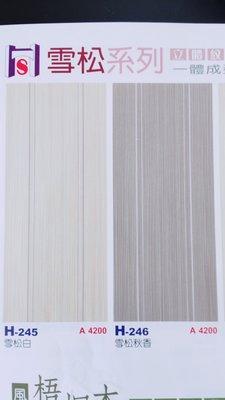 房間門  H-247雪松白(直橫企口)    H-248雪松秋香(直橫企口) 門板 門片 木纖門  房門 木門
