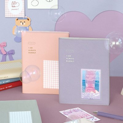 ❅PAVEE❅ 韓國iconic~週計畫 萬年版 Bubbly Diary 格子泡泡 週計畫 萬用手冊 手帳