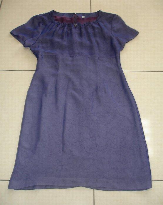 連身裙藍色連身裙--九成新-1
