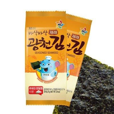 韓國進口 SAJO 韓式傳統海苔 16...