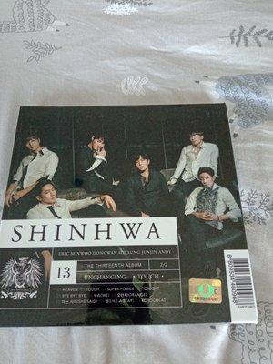 韓國偶像始祖天團 神話 Shinhwa-第13張正規專輯 UNCHANGING  TOUCH 全新未拆