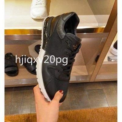 現貨 路易威登MS1 Run Away黑色运动鞋1A5AX2