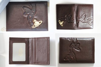 【二手真品】Vivienne Westwood 土星 名片夾 卡片夾 相片夾 信用卡夾 兩折