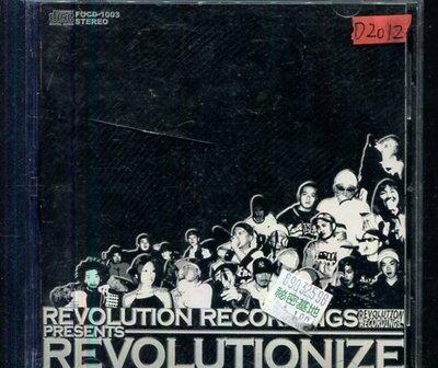 *還有唱片四館* REVOLUTIONIZE / REVOLUTION 二手 D2012