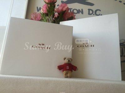 【Sunny Buy 館】◎加購區* ◎ Coach紙盒(大 L 1)  中大型包