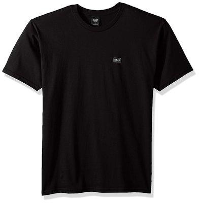 OBEY 全新 現貨 美國潮牌 Typewriter 短袖T恤 黑色 S 柔軟厚棉 輕質 保證正品