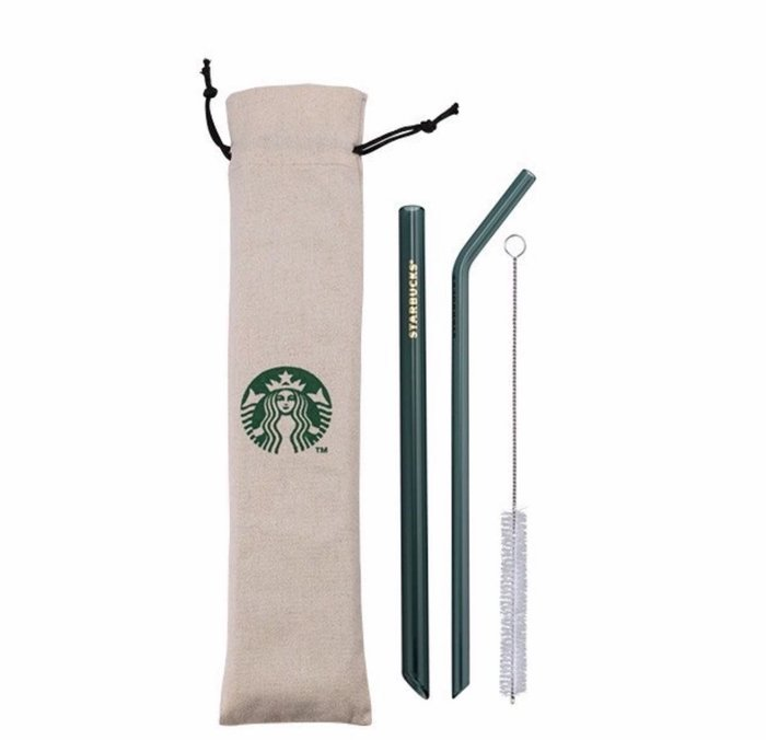 Starbucks 星巴克碧綠吸管組—-含運