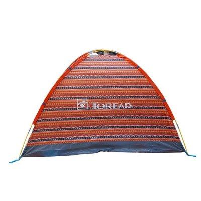 探路者雙人單層帳篷情侶夏新款戶外徒步旅行登山野營 sxx2223