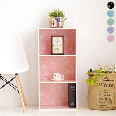 (限宅配)快樂生活網【YV8641】台灣製 三格櫃 三層櫃 馬卡龍 收納櫃 置物櫃 書櫃 櫥櫃 櫃子 木質 日系 無印