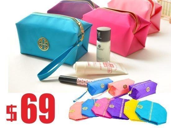 化妝包 摺疊收納大容量 媽媽包 購物袋 旅行袋
