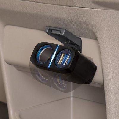 SEIWA 一體型單孔雙USB插座 F274
