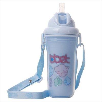 哆啦本鋪 兒童水杯嬰兒學飲杯大容量寶寶吸管杯夏季戶外運動水壺 D655