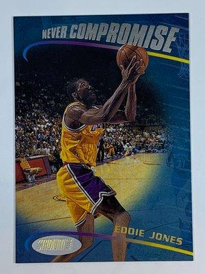 1998-99 Stdium Club Never Compromise Eddie Jones Lakers