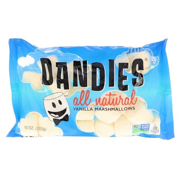 【 Dandies 】 全天然 香草棉花糖 | 迷你 / 大顆(283克)【 純素系列商品 Vegan 】