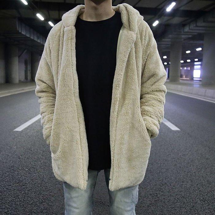 【NoComment】美式休閒 街頭潮流 絨毛素面中常休閒外套 ZARA H&M