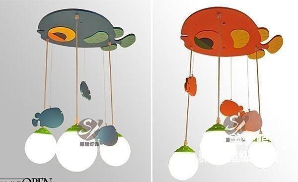 【格倫雅】^儿童灯儿童吊灯儿童房创意卡通卧室书房客厅灯饰灯具61111[g-l-y51