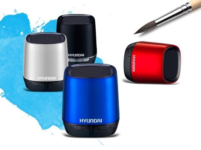 HYUNDAI 現代 I80 藍芽喇叭 性價比最高的藍芽小喇叭 媲美 BOSE BEATS音質效果 大量現貨