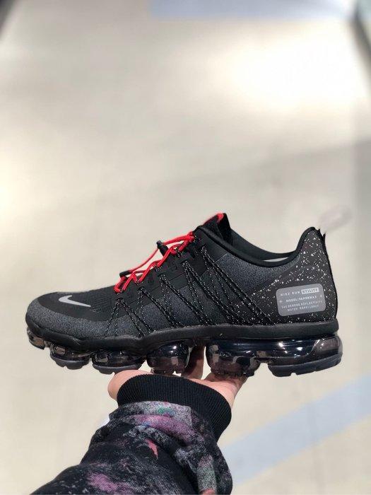 【Cheers】NIKE VAPORMAX RUN UTILITY 黑紅 編織 機能 跑鞋 男鞋AQ8810-001