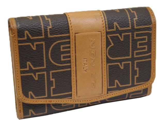 【菲歐娜】7793-(特價拍品)NEN ER 牛皮(澀皮)配乳膠皮鑰匙包(咖)N-01-