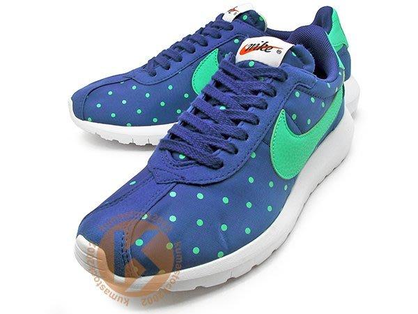 超人氣 NIKE WMNS ROSHE LD-1000 PRINT 女鞋 寶藍 藍紫 粉綠勾 波點 810861-431