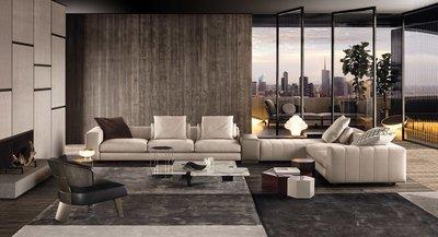 [米蘭諾家具]訂製款 複刻Minotti Free Man Sofa 訂做沙發 台灣嚴選工廠製造/高質感