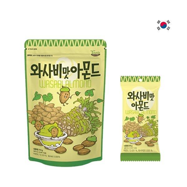 ~魔寶窩~韓國Tom's Farm 蜂蜜芥末杏仁果,210克
