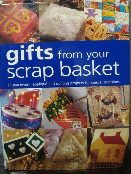 全新原文英文精裝書【Gifts from Your Scrap Basket】,低價起標無底價!免運費!
