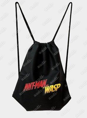 【須預購】蟻人與黃蜂女 雙面彩印後背包 30X40公分 36X46cm 束口背包 束口包 訂做 兩面可挑不同印圖