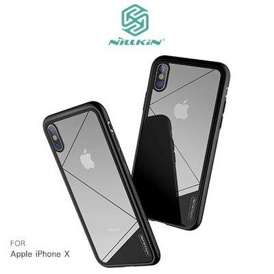 APPLE iPhone X NILLKIN 鋼韌玻璃殼 保護殼 背蓋 手機殼 背殼 殼