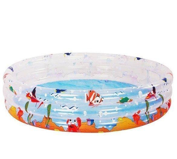 @企鵝寶貝二館@親親-海洋動物三環水池(大) 泳池 戲水池 球池 遊戲池 充氣泳池 (SPOF02-170)