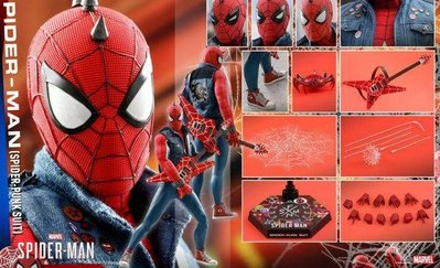 hottoys spiderman PS4 SPIDER PUNK hot toys marvel avengers end game