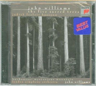 """Five Sacred Trees (Bassoon Concerto)""- John Williams,全新美版54"