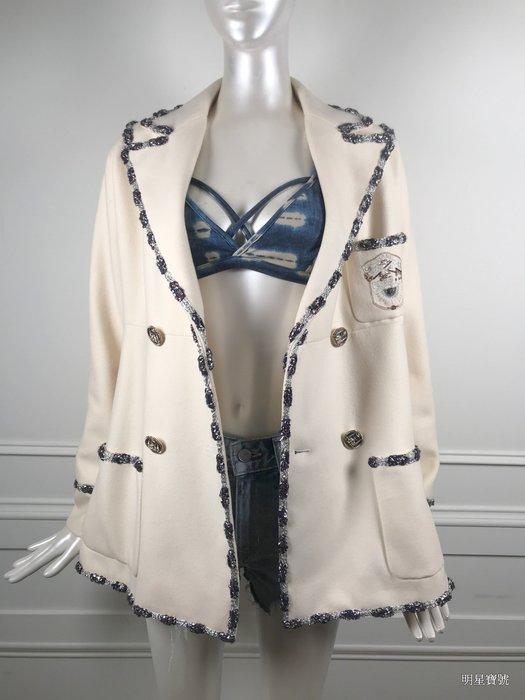 [我是寶琪] 全新未穿CHANEL 乳白色外套