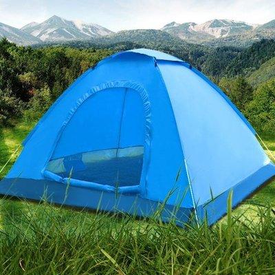 帳篷 全自動戶外帳篷2人沙灘家庭旅游防雨速開露營加厚雙人折疊帳篷
