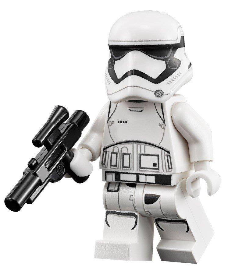 現貨【LEGO 樂高】全新正品 益智玩具 積木 / Star Wars 星際大戰 75139   單一人偶: 白兵+黑槍